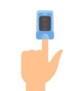 covid-19 - pulse oximeter
